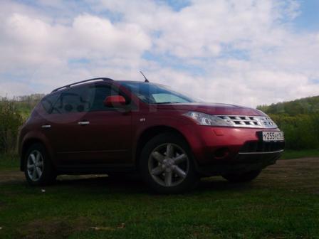 Nissan Murano 2007 - отзыв владельца