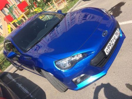 Subaru BRZ 2014 - отзыв владельца