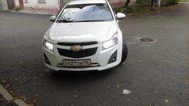 Chevrolet Cruze 2013 отзыв автора | Дата публикации 02.06.2017.
