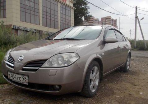 Nissan Primera 2005 - отзыв владельца