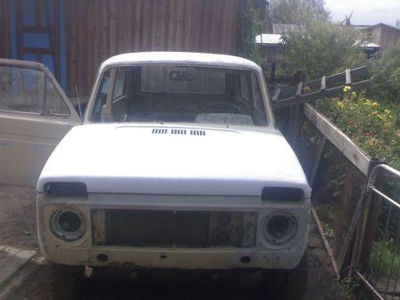 Лада 4x4 2121 Нива 1987 - отзыв владельца