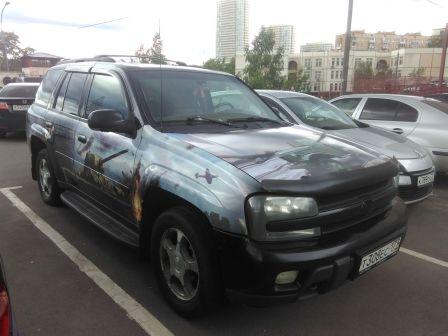 Chevrolet TrailBlazer 2006 - отзыв владельца
