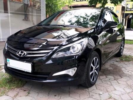 Hyundai Accent 2015 - отзыв владельца