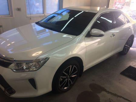Toyota Camry 2016 - отзыв владельца
