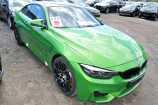 BMW M4. BMW INDIVIDUAL JAVA GREEN METALLIC