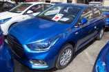 Hyundai Solaris. MARINA BLUE_СИНИЙ (N4B)