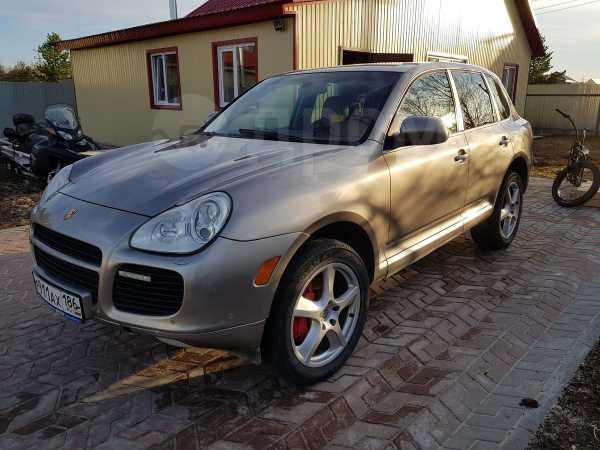 Porsche Cayenne, 2004 год, 555 000 руб.