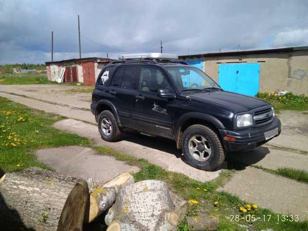 Chevrolet Tracker, 2003 год, 270 000 руб.