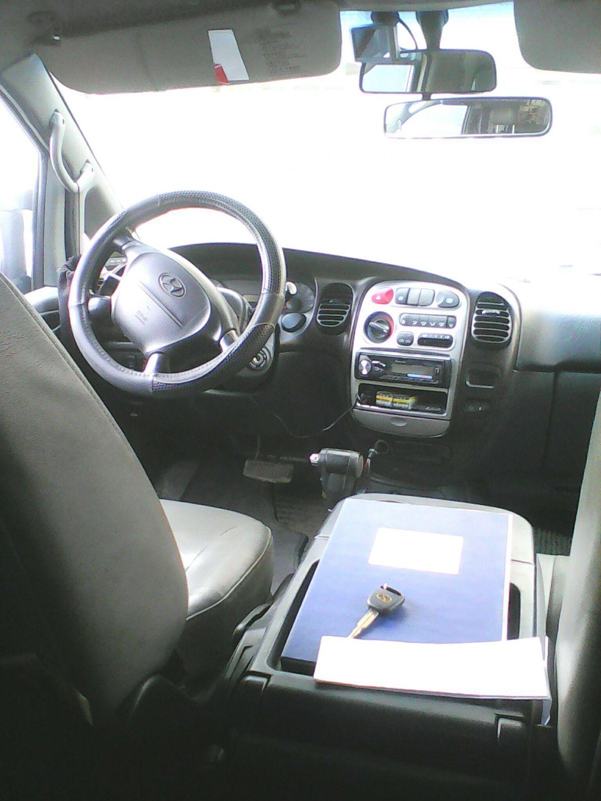 снятие магнитолы hyundai h-1 2007