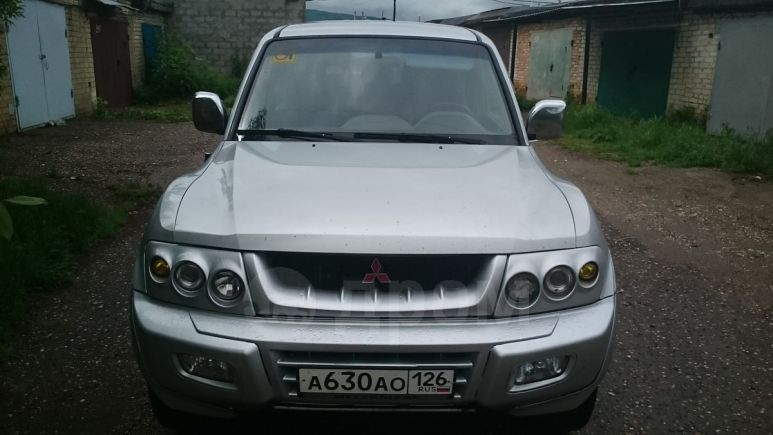 Mitsubishi Pajero, 2002 год, 440 000 руб.