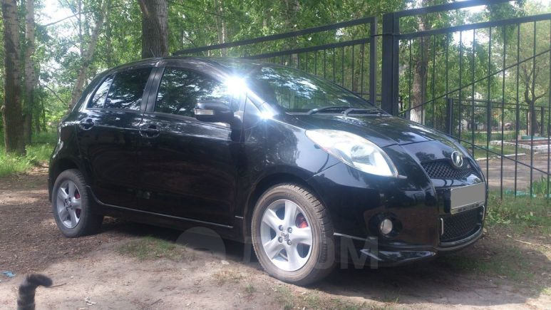 Toyota Vitz, 2008 год, 369 000 руб.