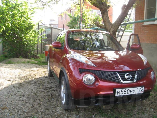 Ниссан Жук 2014 в Краснодаре, мкпп, бордовый, с пробегом 35 тыс.км GA13