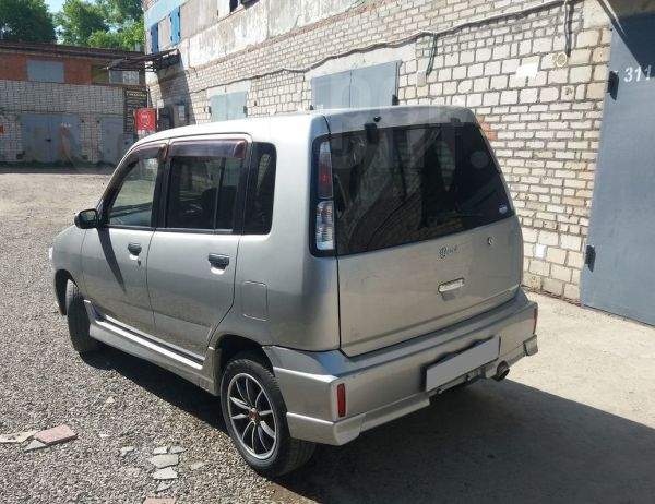 Nissan Cube, 2002 год, 129 990 руб.