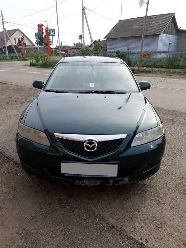 Mazda Mazda6, 2002 год, 200 000 руб.