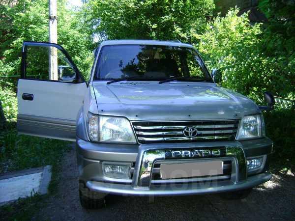 Toyota Land Cruiser Prado, 2001 год, 1 100 000 руб.