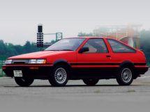 Toyota Corolla Levin рестайлинг 1985, хэтчбек, 4 поколение, E80