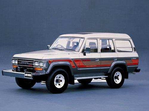 Toyota Land Cruiser 1987 - 1989