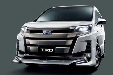 Для минивэнов Toyota Voxy, Noah и Esquire предложили новые фирменные тюнинг-комплекты