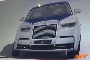 Первые фото нового Rolls-Royce Phantom: фарами похож на российский «Кортеж»