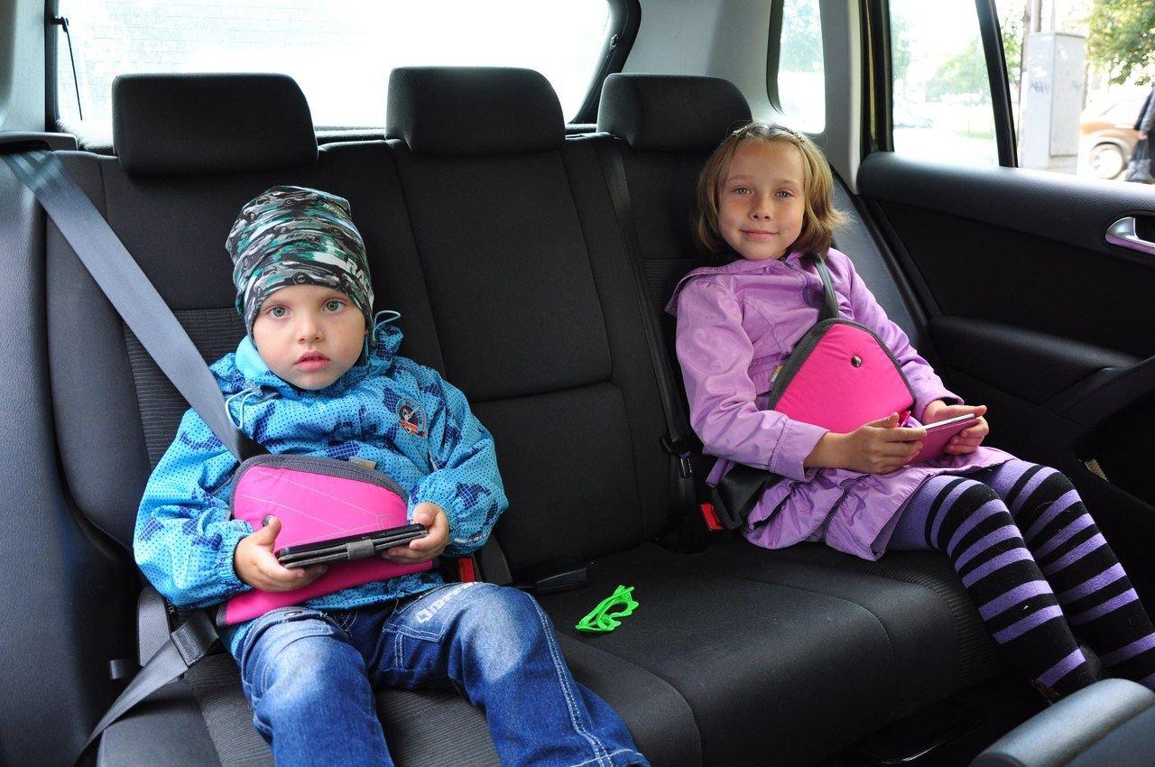 Фото детей в удерживающих устройствах