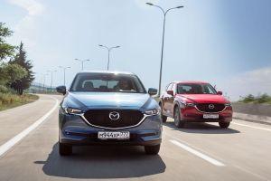 Первый тест кроссовера Mazda CX-5 второго поколения. Эволюция