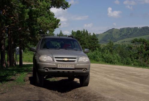 Chevrolet Niva 2014 - отзыв владельца