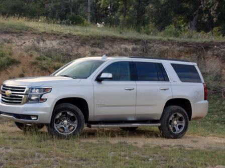 Chevrolet Tahoe 2017 - отзыв владельца