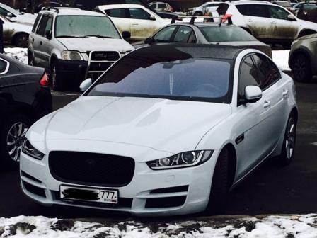 Jaguar XE 2015 - отзыв владельца