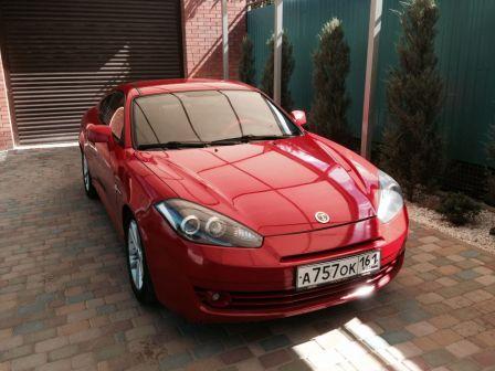 Hyundai Tiburon 2008 - отзыв владельца