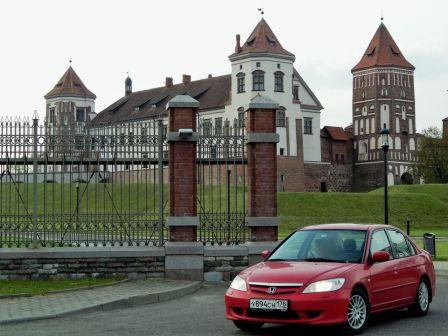Honda Civic 2005 - отзыв владельца