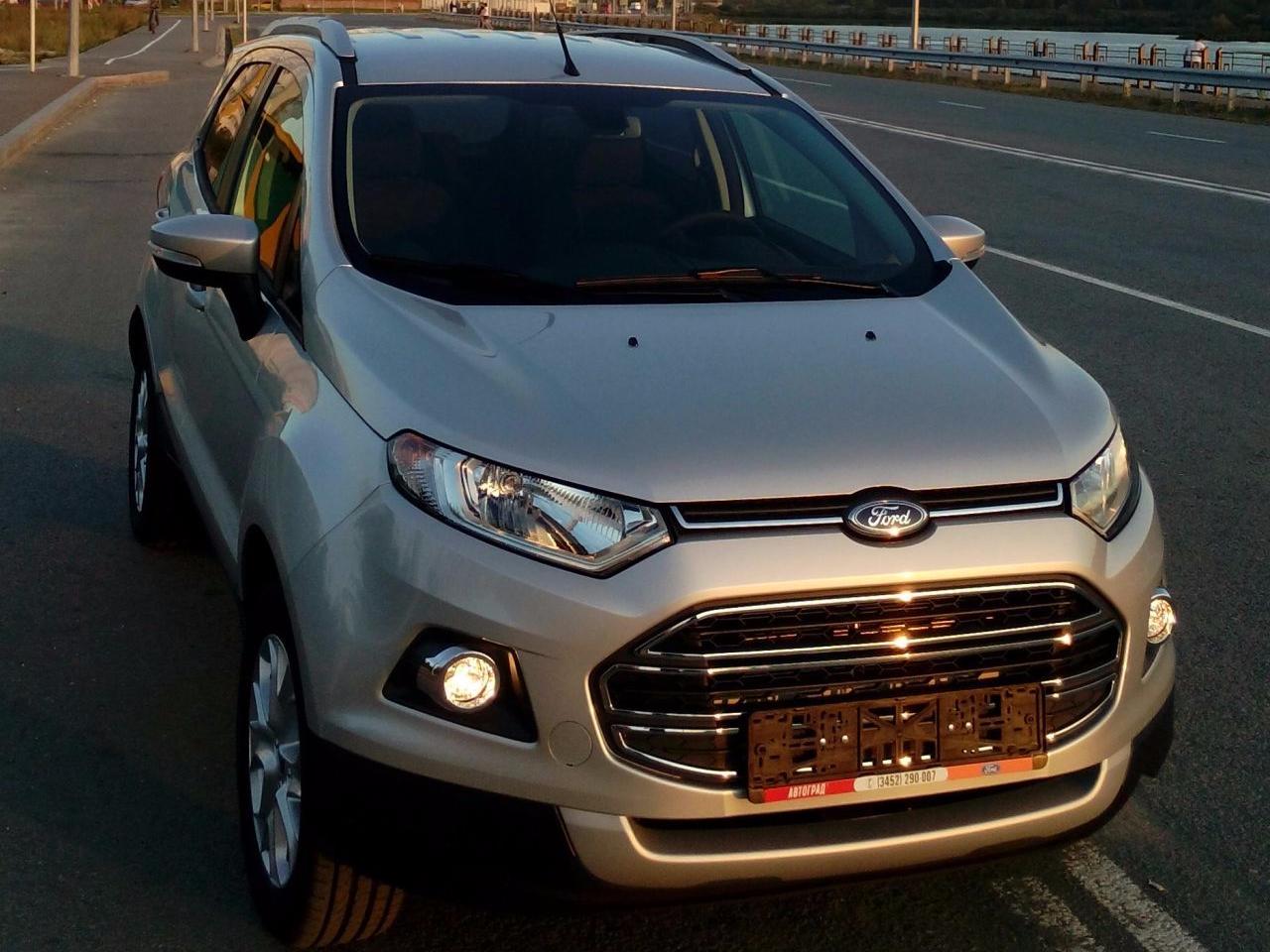 форд экоспорт 2016 фото в новом кузове