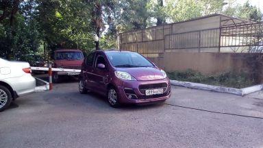 Peugeot 107, 2012