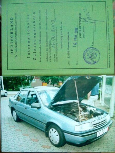 Opel Vectra 1991 - отзыв владельца