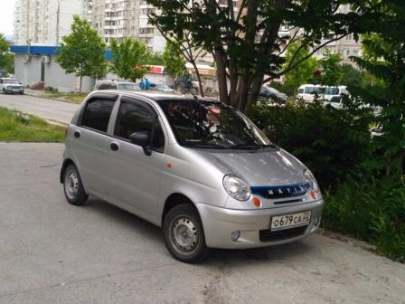 Daewoo Matiz 2010 - отзыв владельца