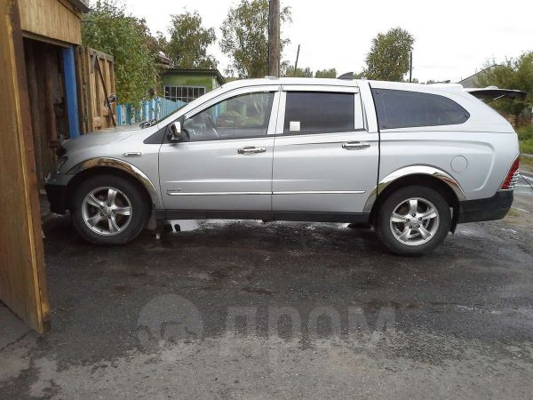 SsangYong Actyon Sports, 2010 год, 460 000 руб.