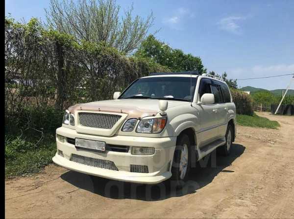Toyota Land Cruiser Cygnus, 1999 год, 980 000 руб.