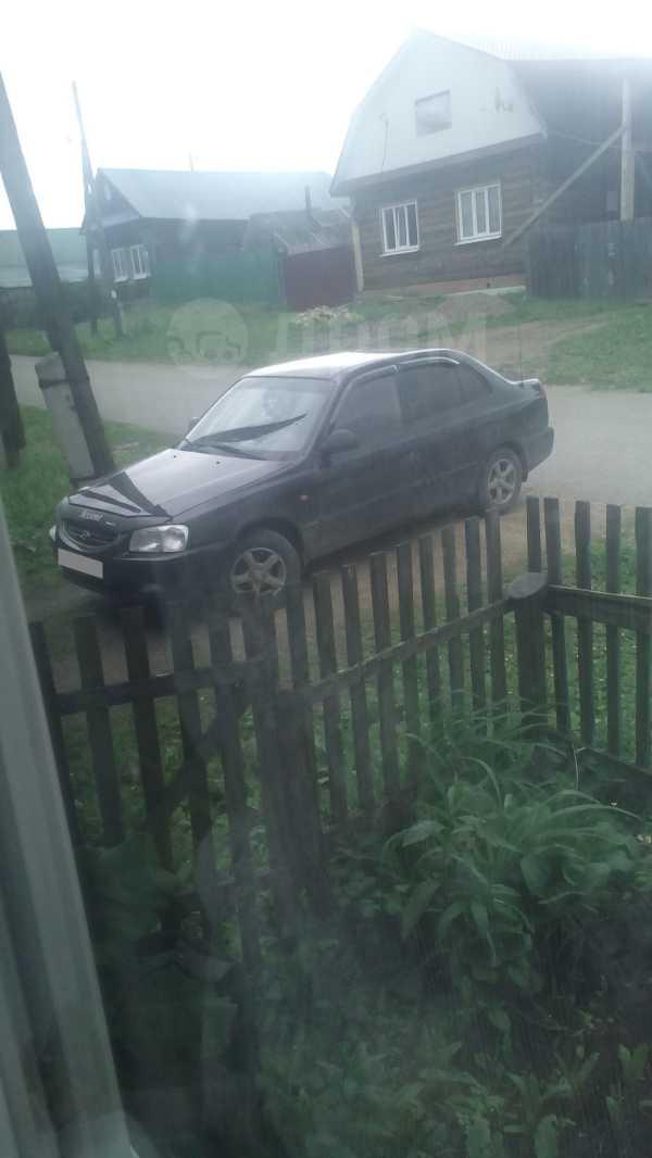 Hyundai Accent, 2007 год, 190 000 руб.