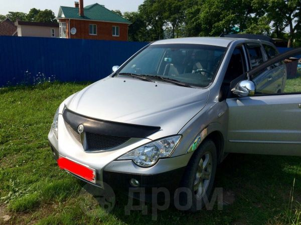 SsangYong Actyon Sports, 2008 год, 460 000 руб.