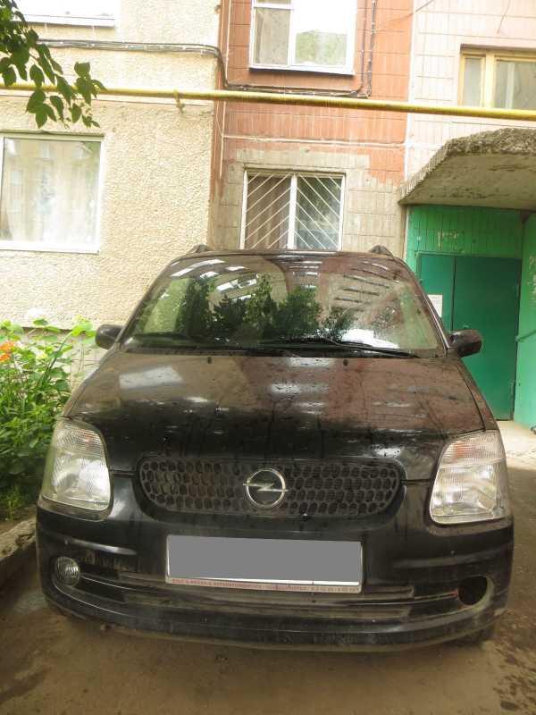 Opel Agila, 2001 год, 120 000 руб.