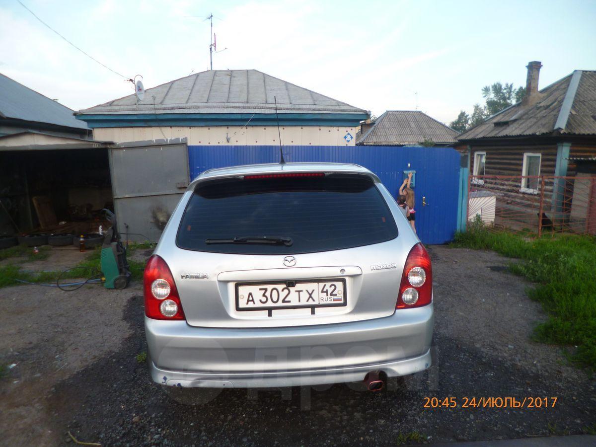 тюнинг для mazda familia s-wagon 2002