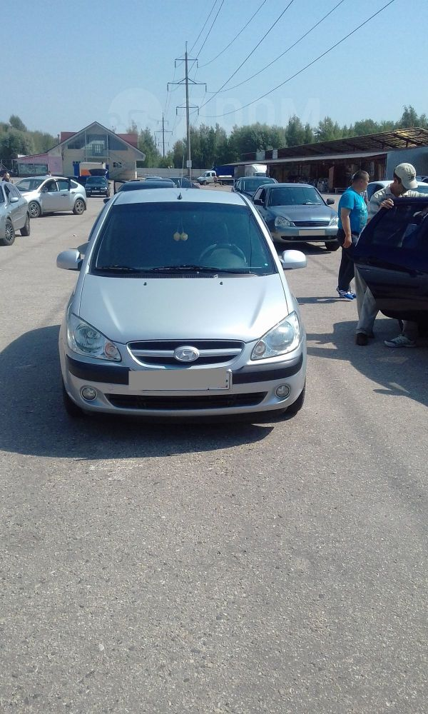 Hyundai Getz, 2008 год, 308 000 руб.