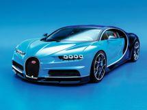 Bugatti Chiron 2016, купе, 1 поколение