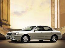 Hyundai Sonata рестайлинг, 4 поколение, 02.2001 - 05.2013, Седан