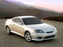 Hyundai Tiburon рестайлинг 2005, купе, 2 поколение, GK2