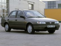 Nissan Sunny 1990, седан, 7 поколение, N14