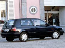 Nissan Sunny 1990, хэтчбек 3 дв., 7 поколение, N14