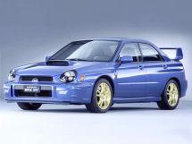 Subaru Impreza WRX STI 2000, седан, 2 поколение, GD