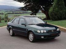 Toyota Corolla рестайлинг, 8 поколение, 01.1999 - 12.2001, Седан