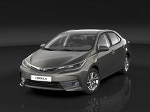 Toyota Corolla рестайлинг, 11 поколение, 03.2016 - 01.2019, Седан