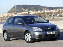 Toyota Corolla рестайлинг, 9 поколение, 05.2004 - 02.2007, Хэтчбек 3 дв.
